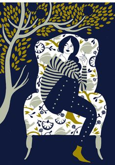 Karolin Schnoor es una ilustradora / diseñadora freelance alemana residente en Londres. Destaca por tener un estilo femenino y rural, con combinaciones de color inusuales y toques simples. Su trabajo está inspirado en sus recuerdos de la infancia, los libros de arte folclórico de la Europa oriental y su amor por los patrones y la serigrafía. Actualmente está trabajando en una variedad de proyectos que van desde diseños textiles a los libros y sitios web.