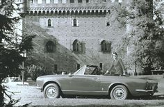A car for royalty! Fiat Spider.