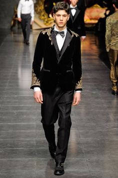 Trim Pickings / Dolce & Gabbana Fall 2012