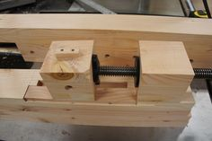 Building My Roubo Bench #4: Building the Wagon Vise - by Andy Panko @ LumberJocks.com ~ woodworking community