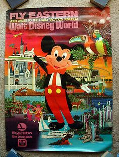 DISNEY 3545 EVOLUTION POSTER MICKEY MOUSE 24x36