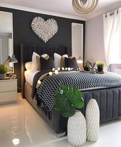 Home Decor Bedroom .Home Decor Bedroom Stylish Bedroom, Modern Bedroom, Minimalist Bedroom, Modern Minimalist, Modern Wall, Master Bedroom Design, Home Decor Bedroom, Bedroom Interiors, Bedroom Designs