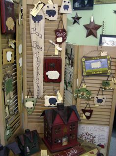 Store Display Ideas | For ideas on using shutters, check out Margo's website . Her site is ...