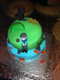 Fisherman's Birthday cake.