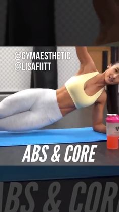 Quick Abs and Core workout for women. Home abs workout for a flat belly. Quick Abs and Core workout for women. Home abs workout for a flat belly. Ab Workout At Home, Pilates Workout, Butt Workout, At Home Workouts, Fitness Workouts, Fitness Workout For Women, Quick Abs, Sixpack Training, At Home Abs