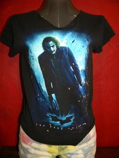 Halloween Batman Joker  Halloween Horror Cut Up T by KillWalmart, $15.00