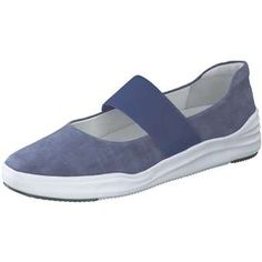 effeef6af59a51 Leone Spangenballerina Damen blau  shoes  ballerinas  schuhe