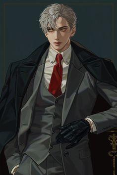 Garçon Anime Hot, Dark Anime Guys, M Anime, Cool Anime Guys, Handsome Anime Guys, Costume Manga, Character Inspiration, Character Art, Fantasy Character Design