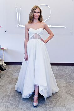 Gown by Blush by Hayley Paige #weddingdresses #cutout