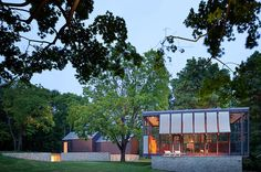 Architecture aficionados in Connecticut know about Philip Johnson's glass house and related buildings in New Canaan, built in 1949. But there's another house in New Canaan designed by Johnson, known as the Wiley Residence, built in 1953. It was...