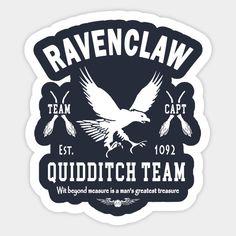 Ravenclaw Quidditch Team Captain Hogwarts, Ravenclaw Quidditch, Harry Potter Classroom, Theme Harry Potter, Harry Potter Books, Tumblr Stickers, Cool Stickers, Journal Stickers, Planner Stickers