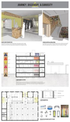 Ellie Nonemacher | Thesis Project Studio | Architectural Drawings and Interior Design | Hammer & Nail | Print Layout