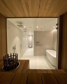 Bathtub, Interior Design, Mirror, House, Furniture, Instagram, Home Decor, Basement, Saunas
