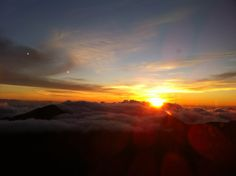 Sunrise at Haleakala. Submitted by Renata Vicente. #pinHawaii