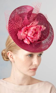 Jane Taylor Millinery - Couture Collections, Viola. #passion4hats