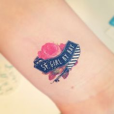 """Victoria @sfgirlbybay had tattoo """"biz cards"""" made for @altsummit"""