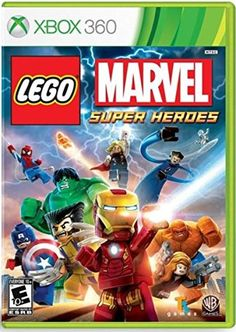 Lego Marvel Super Heroes XBOX 360 -- Details can be found by clicking on the image. Note:It is Affiliate Link to Amazon.
