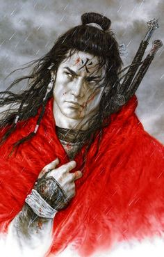 Fortune Cookie:  #Chinese #Warrior, Luis Royo.