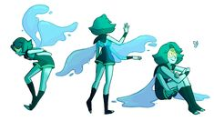 So I find one thing the Steven universe Fandom can agree on is the look of the Peridot and Lapis fusion Steven Universe Peridot, Steven Universe Fan Fusions, Lapidot, Lapis And Peridot, Universe Art, Shows, Fantasy, Character Design, Character Drawing