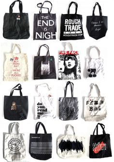 Love tote bags too