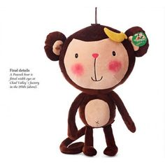 Going BANANAS over this cutie! #Monkey #JoyFay #BananaDay