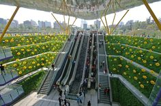 Named after the nearby Central Park, this station lies on the Red Line of the Kaohsiung subway. Description from interiordesignpro.org. I searched for this on bing.com/images
