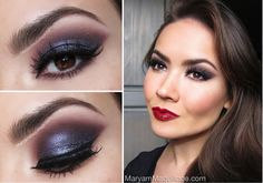 """Black Cherry Plum"" using mineral makeup!"