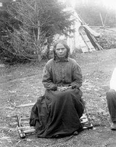 Mi'kmaq woman – 1894