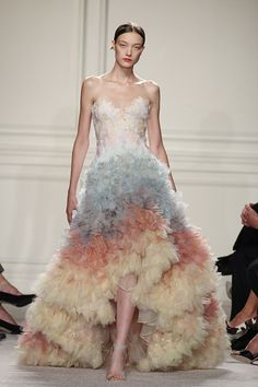 Marchesa at fashion week was full of gorgeous gowns -- and you can see pics of the Spring 2016 collection at NYFW right here.