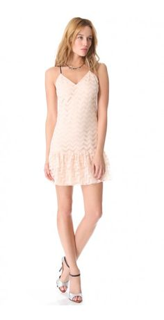 ac968782fc Milly Chevron Tulle Dress on shopstyle.com Tulle Dress