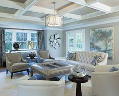 transitional decorating ideas | Transitional Family Room Design Ideas, Pictures, Remodel, and Decor