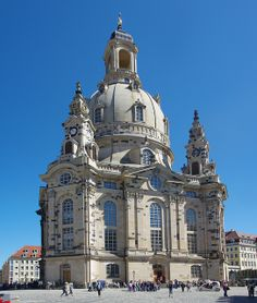 Dresden - Frauenkirche, Germany To book go to www.notjusttravel.com.anglia