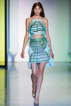 Peter Pilotto Spring 2014 Ready-to-Wear Collection Slideshow on Style.com #londonfw #fashion #catwalk #rtw