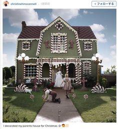 [写真] 実物大「ヘンゼルとグレーテルのお菓子の家」!! 一軒家をジンジャーブレッドハウスに改装した写真がダークファンタジー感あふれてて素敵☆(Pouch[ポーチ]) - エキサイトニュース
