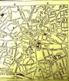 1938 map of coventry City Centre httpwwwbritishhistoryacuk