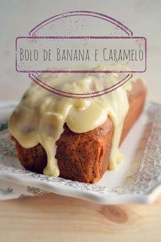 Sweet Gula: Bolo de Banana e Caramelo