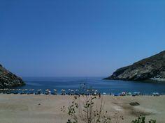 Zorkos Beach, Andros, Greece. Andros Greece, Beaches, Greek, Magic, Island, Water, Outdoor, Beauty, Gripe Water