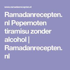Ramadanrecepten.nl Pepernoten tiramisu zonder alcohol   Ramadanrecepten.nl