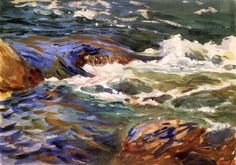 In Norway, 1901  John Singer Sargent
