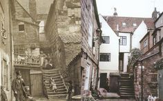 """""""Arguments yard"""" Whitby, England ca. 1890"""