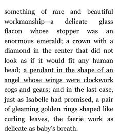 The clockwork angel mentioned in CoFA.