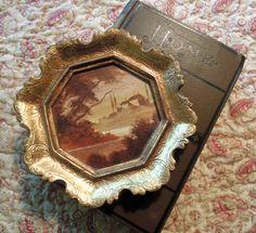 Vintage Italian Florentine Gold Gilt Frame by jmhallcuriosities, $26.00