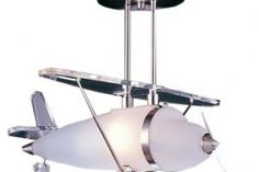 nursery lamps - I have a feeling if we have a boy it might be airplane themed