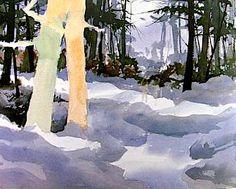 Watercolor Landscapes by Jim - Watercolor lesson- Watercolor,Landscapes,Jim,Free Tutorials Network.shijieminghua.com