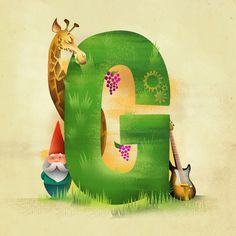 G is for... Art Print by Dave Mottram's Store   Society6