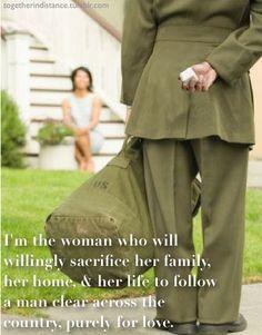 I am an Army Wife.