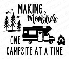 Rv Decals, Sticker, Pampered Chef Catalog, Canadian Travel, Bucket Light, Making Memories, Campsite, Motorhome, How To Apply