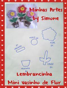 ♥ Molde cortesia Blog Minhas Artes by Simone