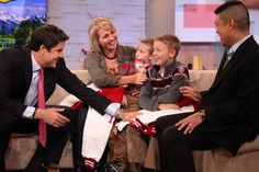 Team Long Brothers on Good Morning America (GMA). Their parents encouraged the boys to race despite Cayden's cerebral palsy.