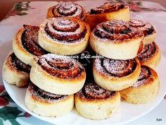 Érdekel a receptje? Kattints a képre! Doughnut, Breakfast Recipes, Recipies, Cheesecake, Food And Drink, Cooking Recipes, Yummy Food, Sweets, Cookies